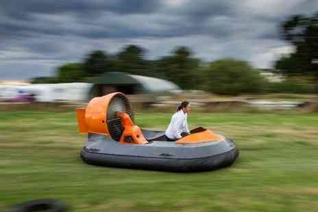 High Cross Hovercraft - 90 minute on land hovercraft experience - Save 13%