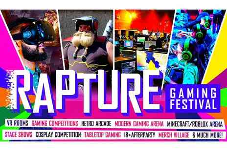 Kilimanjaro Live - Ticket to the Rapture Gaming Festival - Save 35%
