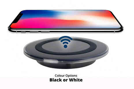 SPOT PROMOTIONS - Fast qi wireless phone charging pad choose from two colours - Save 75%