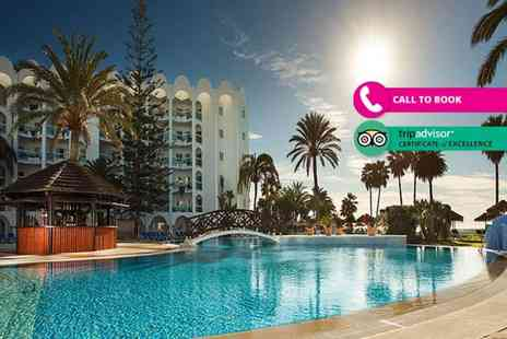 Super Escapes Travel - Three nights Stay all inclusive Costa del Sol break with one spa circuit session and flights - Save 21%