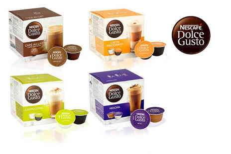 Euro Coffee Pods - 3 boxes containing 48 Nescafe pods - Save 69%