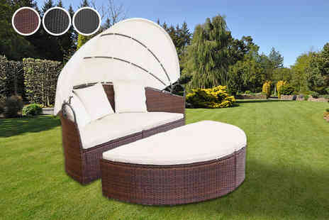 Trade NL - Rattan lounge bed choose from three colours - Save 78%