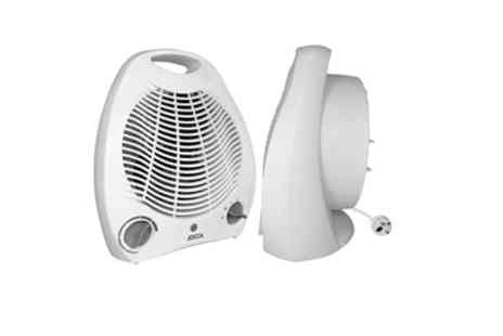 Groupon Goods Global GmbH - One or Two Jocca Fan Heaters 2000W - Save 59%