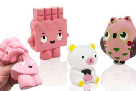 Groupon Goods Global GmbH - Set of Three Character Slow Rise Squishies - Save 55%