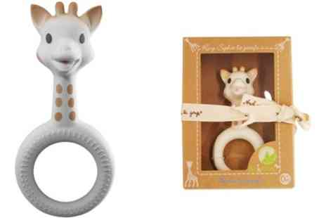 Groupon Goods Global GmbH - One or Two Sophie La Girafe Pure Teething Rings - Save 7%