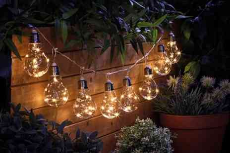 Groupon Goods Global GmbH - 10, 20 or 40 Battery Bulb String Lights - Save 72%