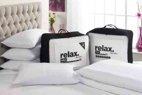 Groupon Goods Global GmbH - John Cotton Relax Duvet and Four Pillows - Save 75%