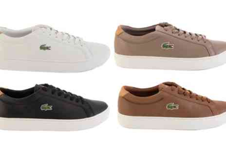 Groupon Goods Global GmbH - Lacoste Mens Classic Trainers in Four Colours - Save 47%