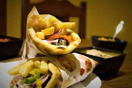 Greekosophy - Two Course Greek Meal with Drink Each for Two or Four - Save 43%