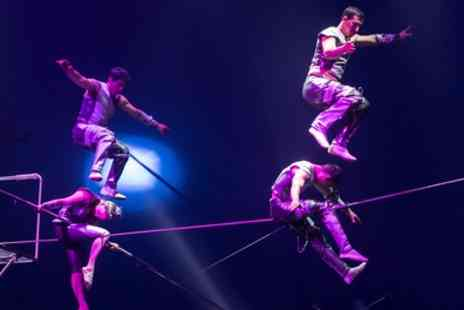 Circus Vegas - One grandstand ticket to Circus Vegas on 29 June To 8 July - Save 50%