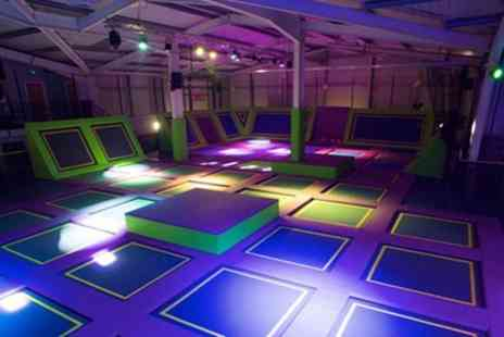 Jump One Barnsley - Trampoline Access for One, Two or Four - Save 44%