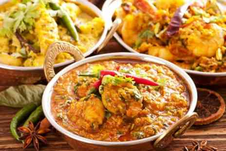 Harappa - Two Course Indian Meal with Side and Glass of Wine for Two or Four - Save 33%
