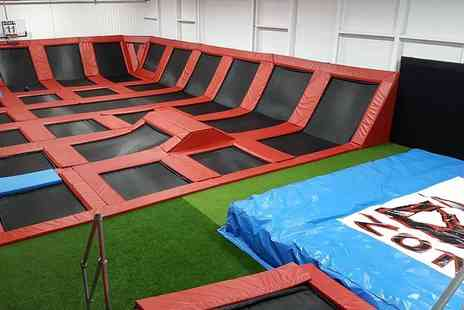 Boing Zone Trampoline Park - Hour long trampolining session - Save 44%