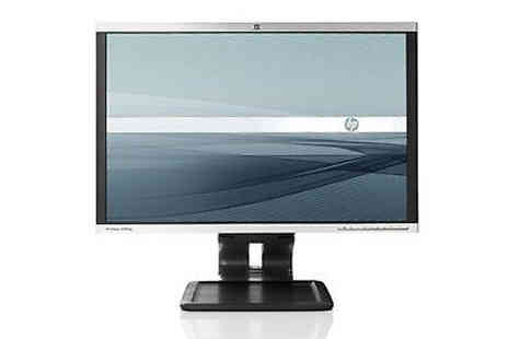 IT Trade Services - Refurbished 24 inch HP monitor - Save 70%