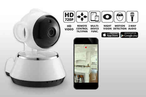 TY Direct - HD home security 360 Degree camera with motion sensor - Save 76%