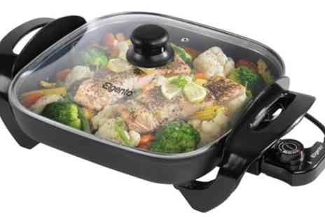 Groupon Goods Global GmbH - Elgento E14024 Electric Frying Pan - Save 56%