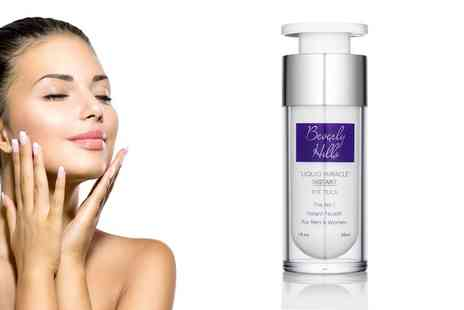 Groupon Goods Global GmbH - One, Two or Three 30ml Bottles of Beverly Hills Liquid Miracle Instant Facelift and Eye Tuck - Save 0%