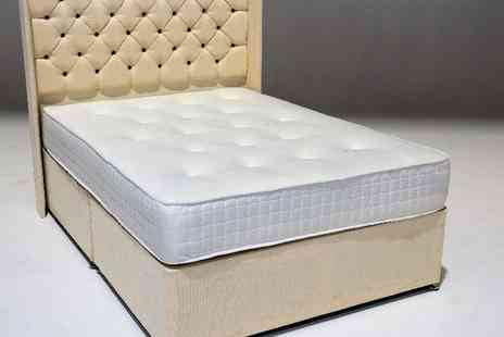 Dreamtouch Mattresses - Hand tufted orthopaedic memory foam sprung mattress quality - Save 85%