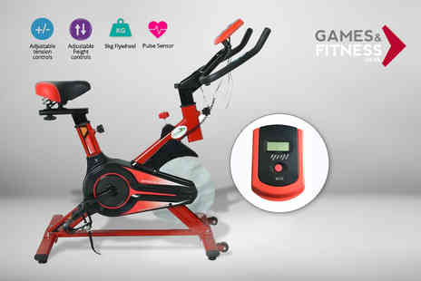 Games & Fitness - BodyTrain 360 exercise bike - Save 48%