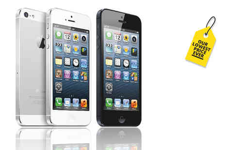 Renew Electronics - Refurbished 16GB Apple iPhone 5, or 32GB model choose from two great colours - Save 54%