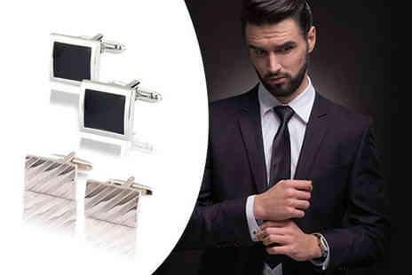 Boni Caro - Two pairs of cufflinks - Save 68%