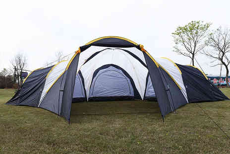 FDS - 9 person tent with enclosed living space - Save 51%
