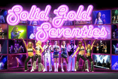 Electric Productions - Ticket to the Solid Gold 70s Show on 22nd September at Liquid Rooms, Edinburgh or on 20th October at Oran Mor, Glasgow - Save 53%