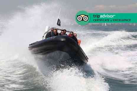 Seadogz - 60 or 90 minute extreme RIB boating experience - Save 60%
