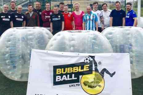 Bubbleball - Zorb Ball Experience for Up to 15 or 20 - Save 32%