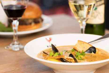Petit Bistro - Two course French meal & bubbly in Leicester Square - Save 44%