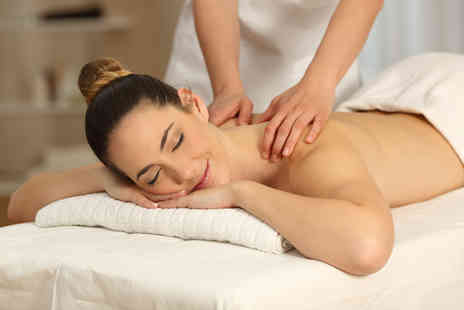 Lumins Studio - 30 minute Swedish back, neck and shoulder massage with a 30 minute express facial - Save 58%