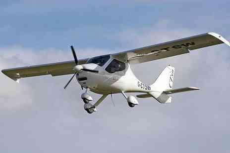 North East Flying Club - 30 minute flying experience and flight club membership - Save 42%