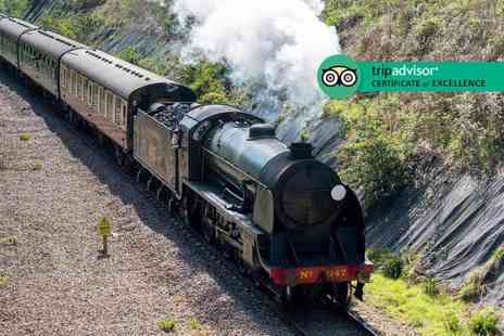 Bluebell Railway - Return steam train journey for two people from Sheffield Park, Sussex to East Grinstead - Save 32%