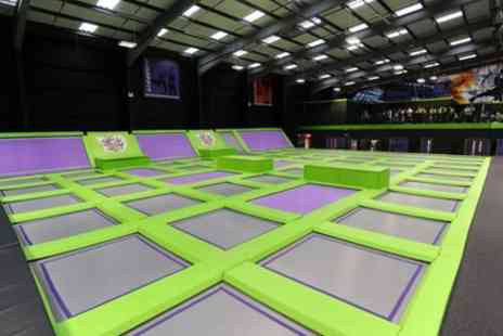 Jump Giants Newcastle - Kids Trampoline Party for Up to 12 Children - Save 26%