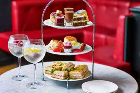 Cafe Rouge - Cafe Rouge afternoon tea with G&T for 2 - Save 51%