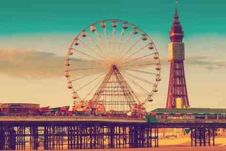 The Melville Hotel - Two or three night Blackpool stay for two people with breakfast - Save 57%