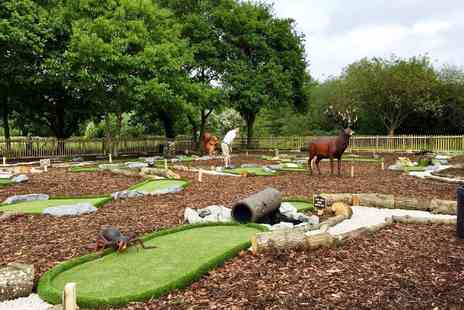 Dinton Adventure Golf - Four person game of mini golf - Save 50%