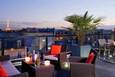 L Edmond Hotel - Four Star Modern Style Stay For Two near the Champs Elysees - Save 72%