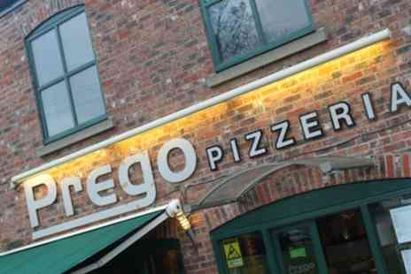 Prego Pizzeria - Italian Meal and Wine for Two or Four - Save 43%