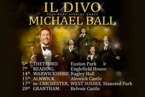 Live Nation HQ - Il Divo, Summer House Sounds, Seated Tickets on 5 to 20 July - Save 44%