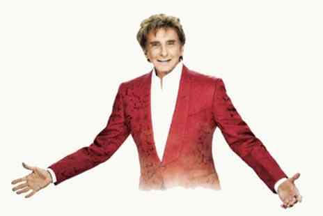 Barry Manilow Tour - Ticket to Barry Manilow and Special Guests Collabro on 1 to 7 September - Save 11%