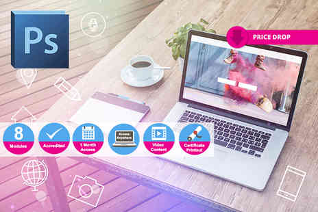 Live Online Academy - Online accredited diploma in Photoshop - Save 97%