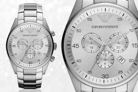 Mimo Deals - Unisex Emporio Armani AR5869 stainless steel watch - Save 56%
