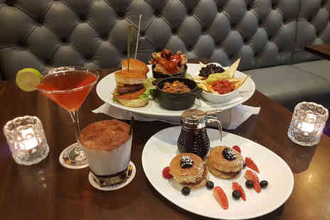 TriBeCa - American afternoon tea for two people with cocktails - Save 51%