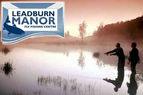 Leadburn Manor - Eight Hours' Fishing With Equipment Hire, Induction and Lunch - Save 73%