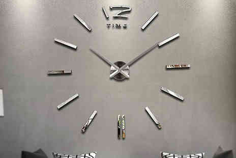 Home Season - 3D Frameless Wall Clock - Save 73%