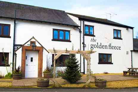 The Golden Fleece - Two night cosy Cumbria inn stay with bubbly - Save 46%
