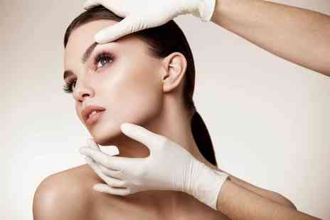 Finchley Cosmetic Clinic - Non surgical PDO face lift on the forehead area, choice of one facial area or full face - Save 76%