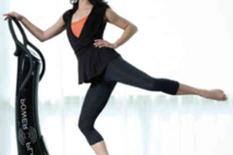 Fit and Easy - Five Power Plate Sessions with Physiotherapist - Save 71%