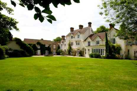Esseborne Manor - One or Two Nights Stay for Two with Breakfast, Dinner, and Option for Cream Tea and Golf - Save 30%